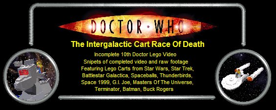Menu Button - Doctor Who Carts